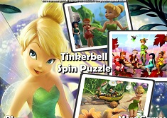 TINKERBELL PUZZLE ROTATIV