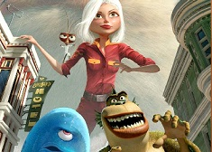 PUZZLE MONSTERS VS ALIENS