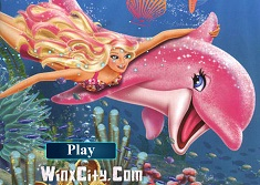 BARBIE SIRENA PUZZLE SET