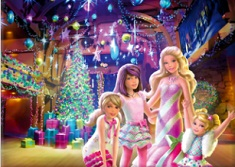 BARBIE PUZZLE DE CRACIUN