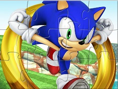 SONIC JIGSAW PUZZLE