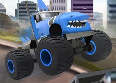 OBSTACOLELE MONSTER TRUCK