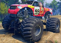 PUZZLE CU MONSTER TRUCK FORD