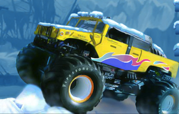 MONSTER TRUCK SEZON DE IARNA