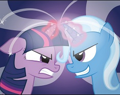 TWILIGHT VS TRIXIE LUPTA