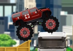MONSTER TRUCK ECHIPA DE INTERVENTIE