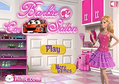 BARBIE LA SALONUL AUTO