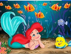 MICA SIRENA SI FLOUNDER PUZZLE