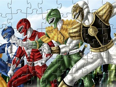 POWER RANGERS JIGSAW PUZZLE