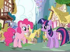 PINKIE PIE SI TWILIGHT