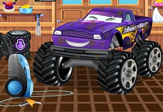 SPALA MASINA MONSTER TRUCK
