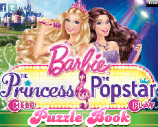 BARBIE POP STAR PUZZLE SET