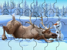 SVEN SI OLAF PUZZLE