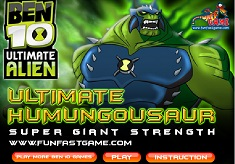 BEN 10 ULTIMATE HUMUNGOUSAUR