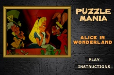 ALICE IN TARA MINUNILOR PUZZLE MANIA