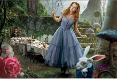 ALICE IN TARA MINUNILOR PUZZLE ROTATIV