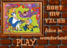 ALICE IN TARA MINUNILOR PUZZLE