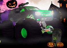HALLOWEEN MONSTER TRUCK
