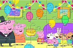 PURCELUSA PEPPA SET DE PUZZLE