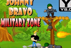 JOHNNY BRAVO IN ARMATA