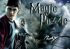 PUZZLE MAGIC CU HARRY POTTER