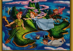 PETER PAN SI WENDY PUZZLE