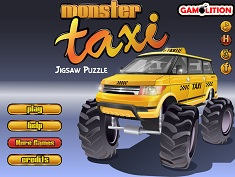 MONSTER TAXI PUZZLE