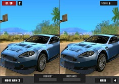 giochi trova le differenze di aston martin